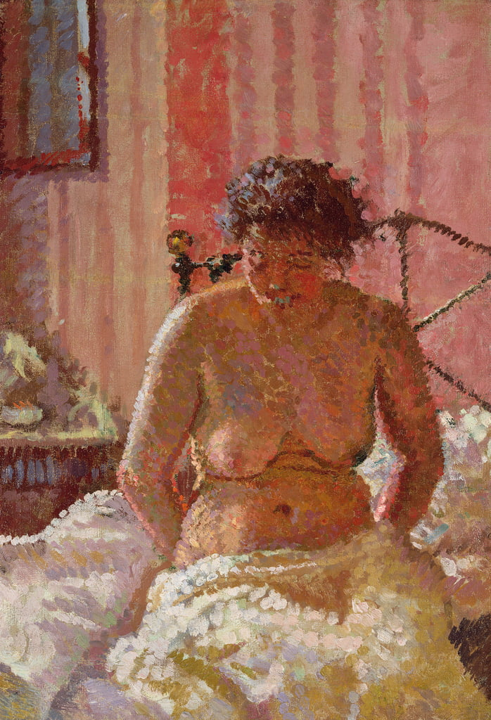 Nude in an Interior by Harold Gilman
