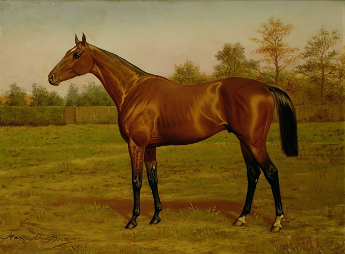 Isinglass, Triple Crown, 1893 by Harrington Bird