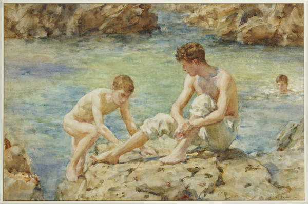 The Bathers, 1922 by Henry Scott Tuke