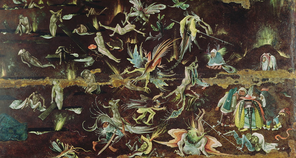 The Last Judgement, c.1504  (detail) by Hieronymus Bosch