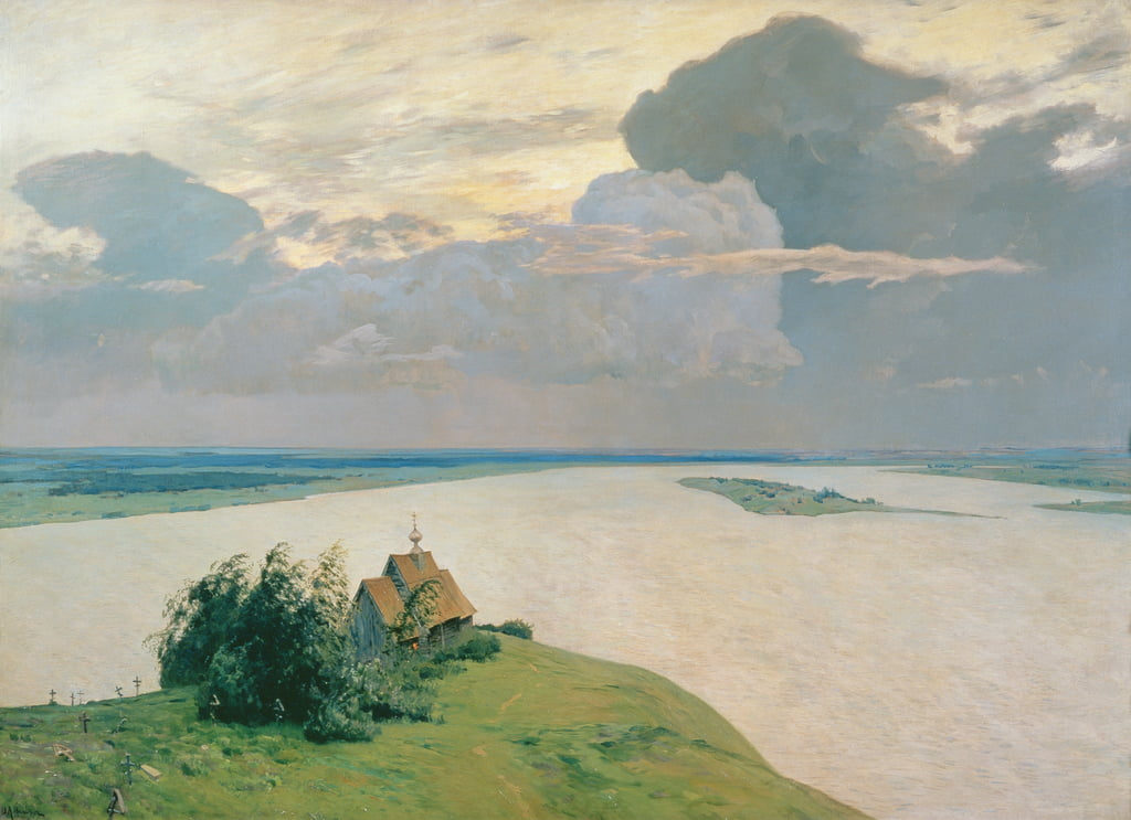 Above the Eternal Peace, 1894  by Isaak Ilyich Levitan