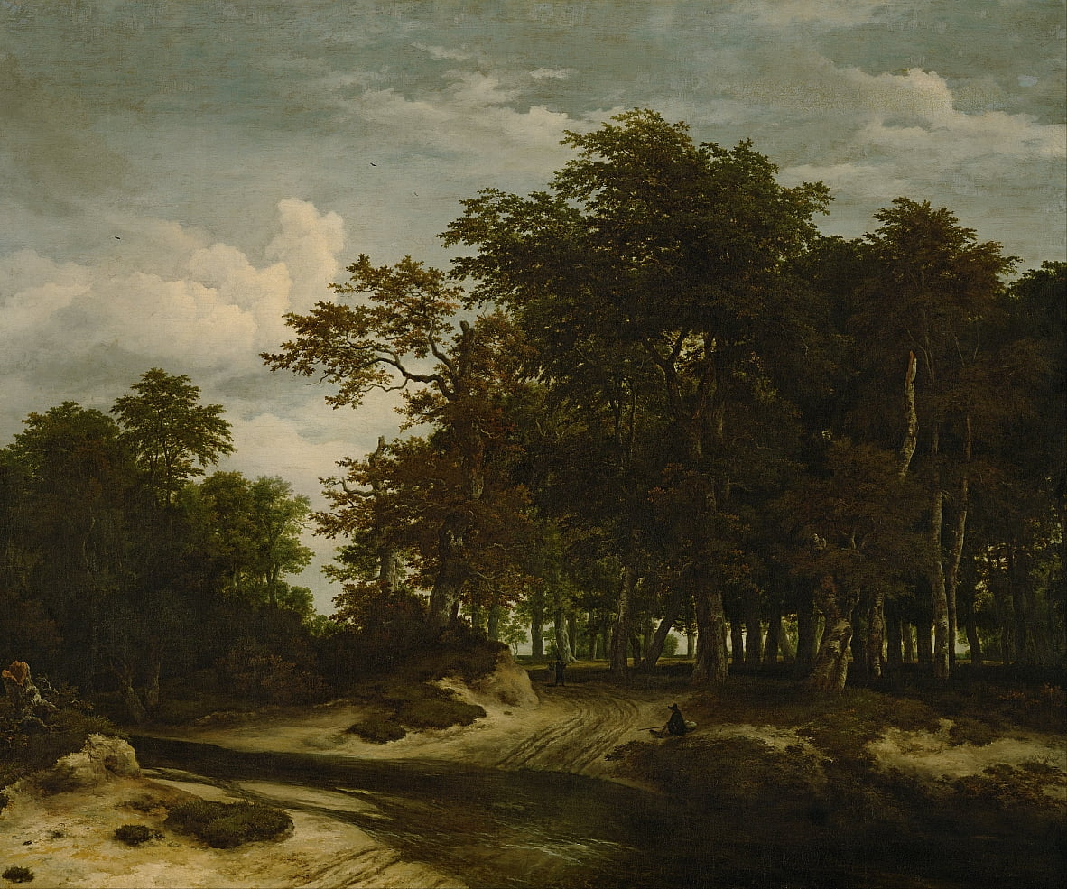 The Great Forest by Jacob van Ruisdael