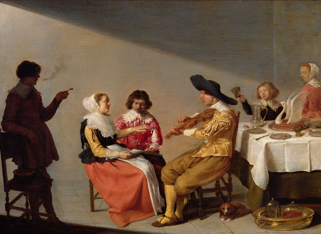 A Musical Party, 1631  by Jacob van Velsen