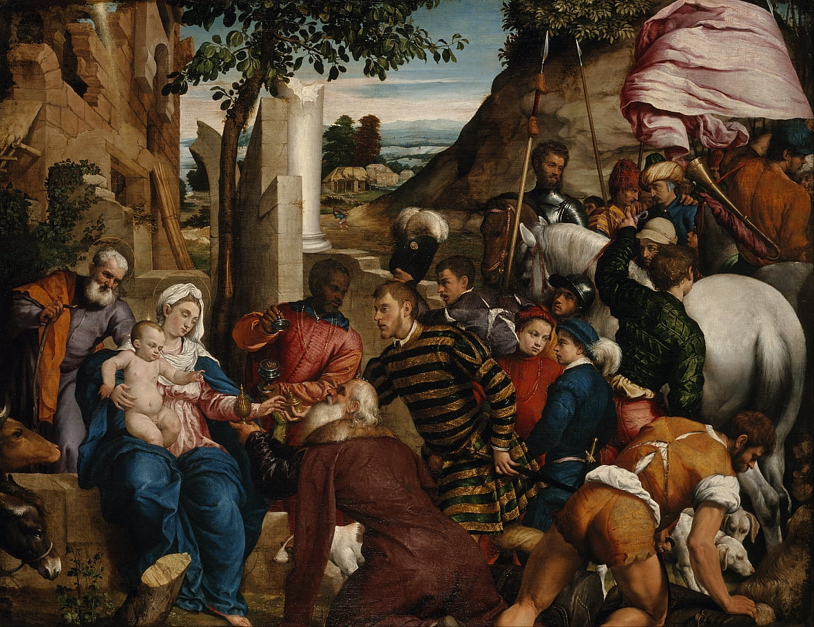 The Adoration of the Kings by Jacopo Bassano