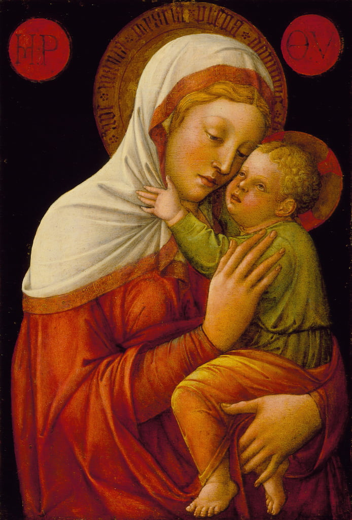 Madonna and Child, c.1465  by Jacopo Bellini