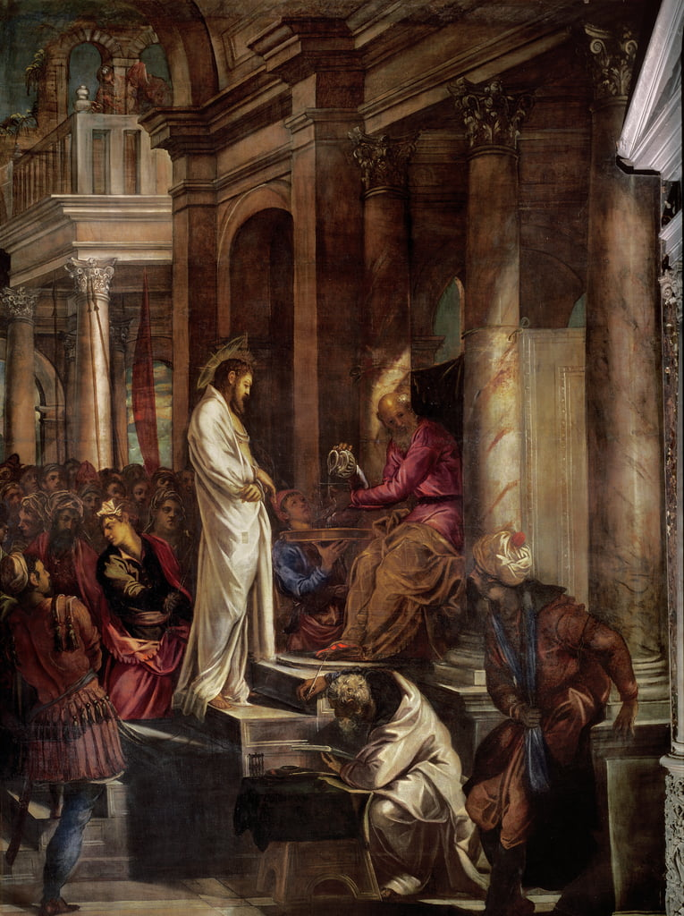 Christ before Pilate, c.1566-67  by Jacopo Robusti Tintoretto