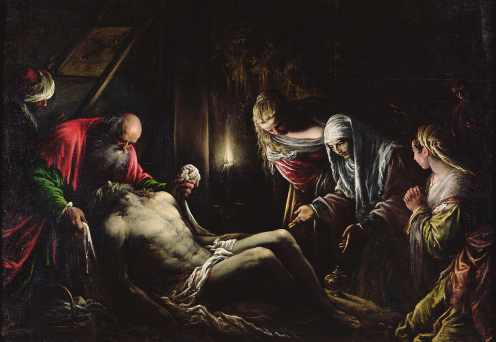 The Deposition  by Jacopo Bassano