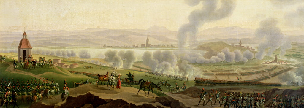The Battle of Wagram, 6th July 1809  by Jacques Francois Joseph Swebach
