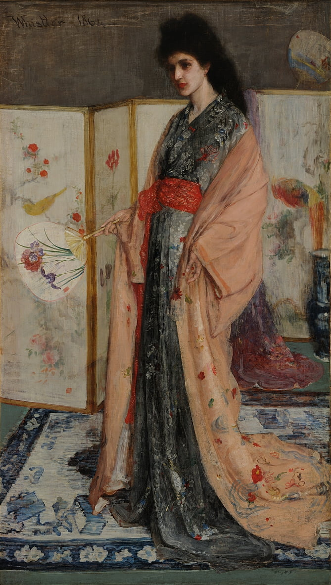 The Princess from the Land of Porcelain by James Abbott McNeill Whistler