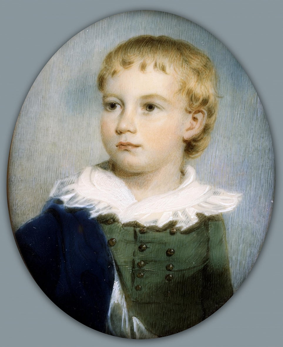 Portrait of a Boy by James Nixon