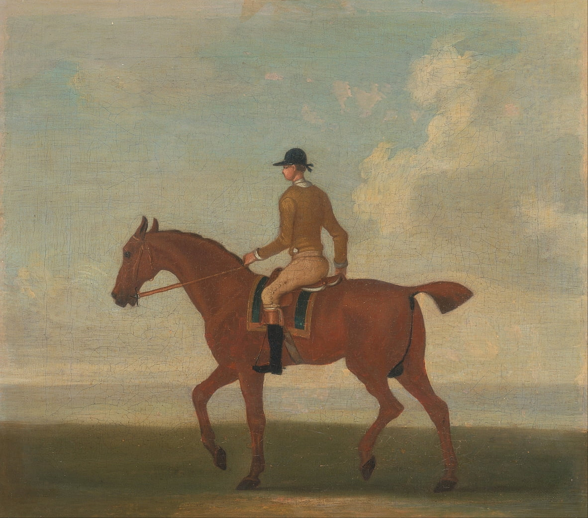 One of Four Portraits of Horses by James Seymour
