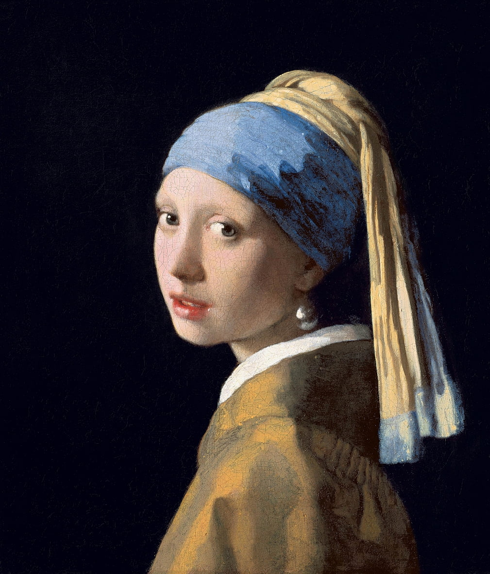 Girl with a Pearl Earring by Jan Vermeer van Delft