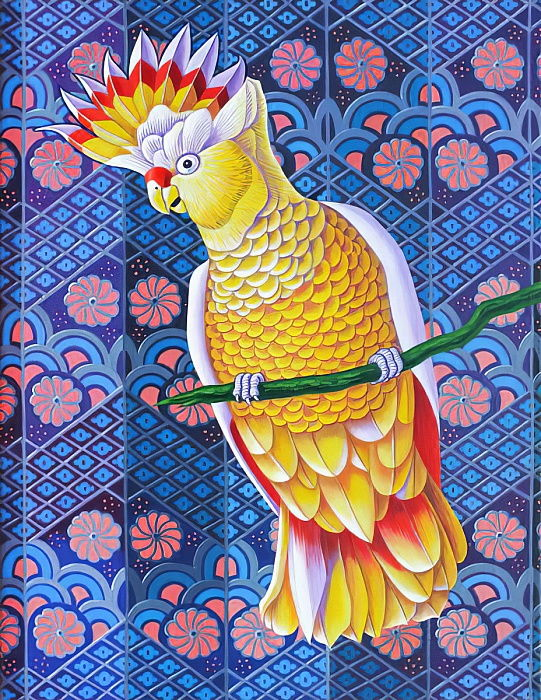 Cockatoo, 2016,  by Jane Tattersfield