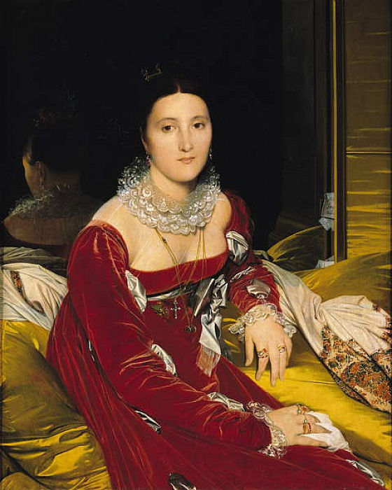 Madame de Senonnes, 1814-16  by Jean Auguste Dominique Ingres