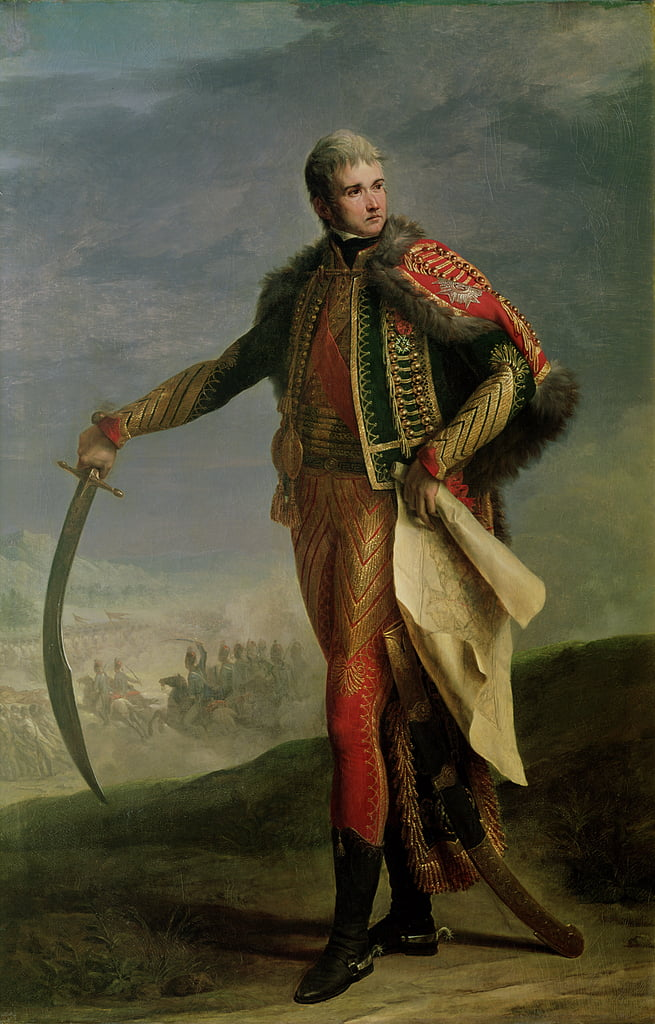 Portrait of Jean Lannes (1769-1809) Duke of Montebello, 1805-10  by Jean Charles Nicaise Perrin