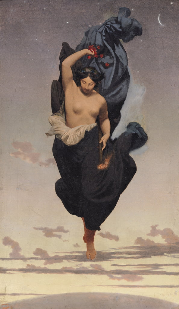 Night, c.1850-55  by Jean Leon Gerome