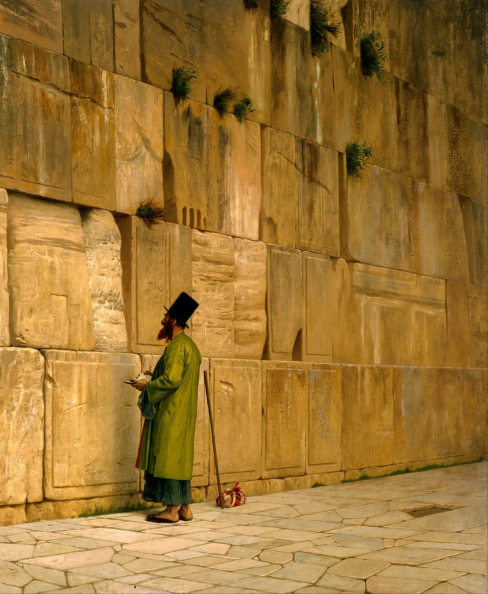 The Wailing Wall by Jean Leon Gerome