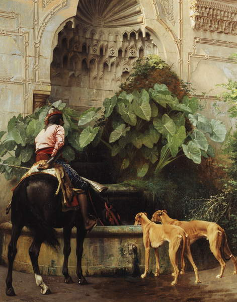 Return to Hunting,  by Jean Leon Gerome