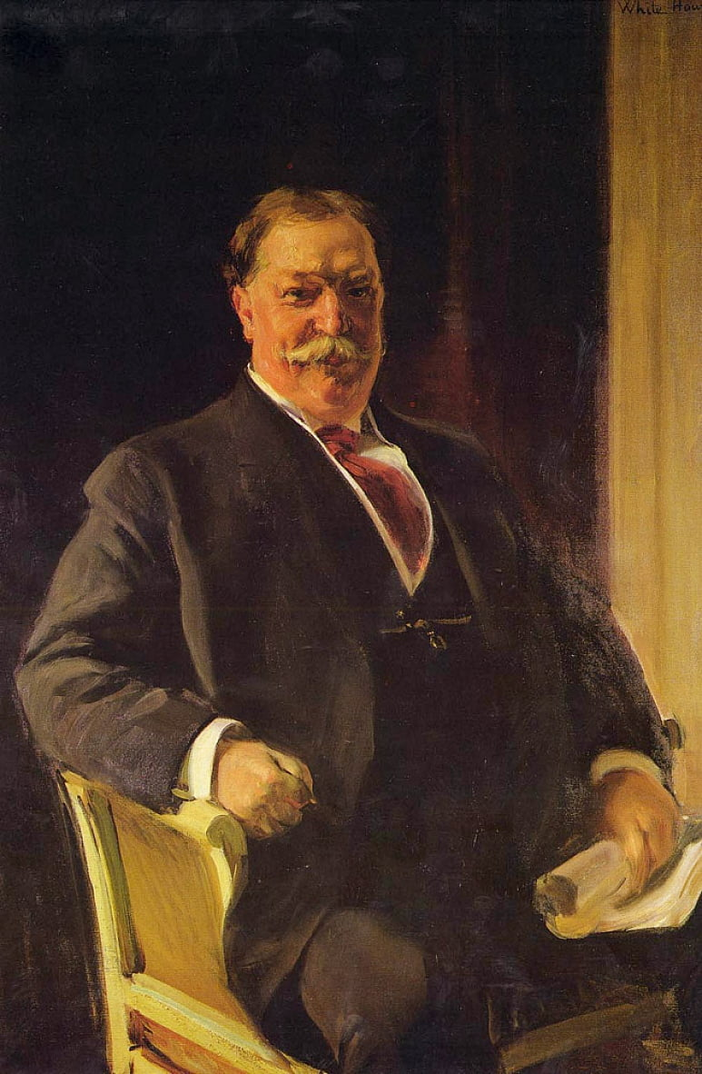 Retrato del Sr. Taft, Presidente de los Estados UnidosnEnglish: Portrait of Mr. Taft, President of the United StatesnFrancais : Portrait de Mr. Taft, President des Etats-Unis dAmeriquen by Joaquín Sorolla