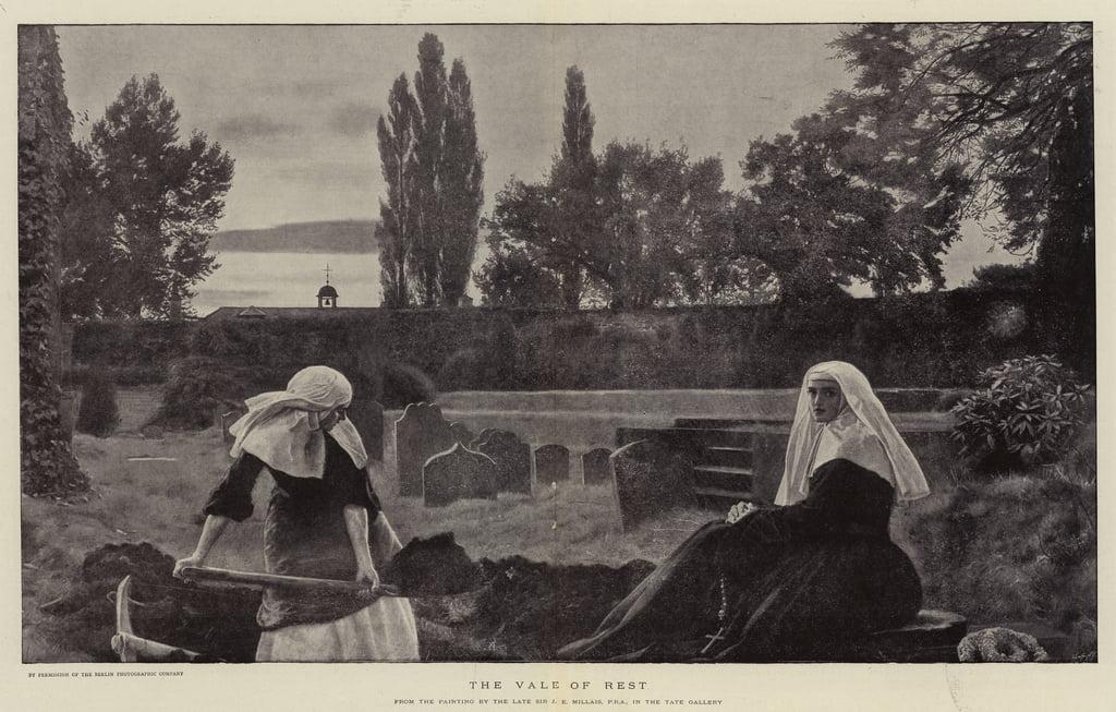 John Everett Millais Sunny Lake Vintage Fine Art Print