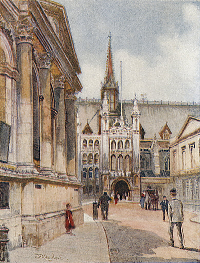 The Guildhall by John Fulleylove