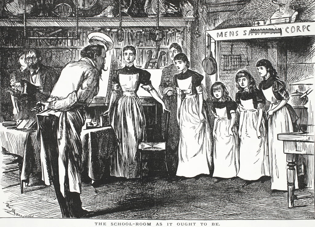 The School-room as it ought to be  by John Leech