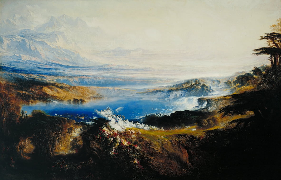 The Plains of Heaven by John Martin