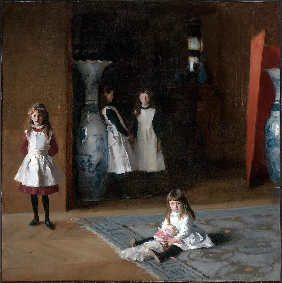 The Daughters of Edward Darley BoitnDeutsch: Die Tochter BoitnTurkce: Edward Darley Boitin KzlarnFrancais : Filles dEdward Darley Boitn  by John Singer Sargent