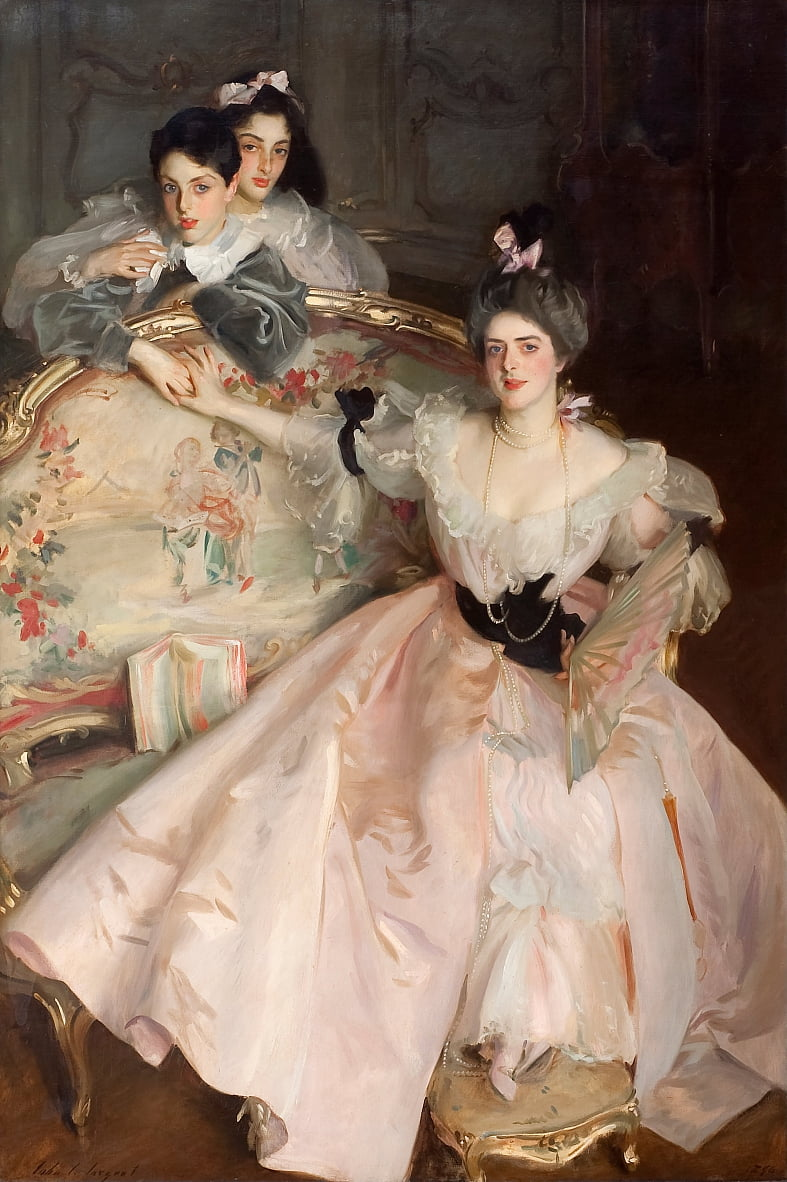 Mrs Carl Meyer and her Children by John Singer Sargent