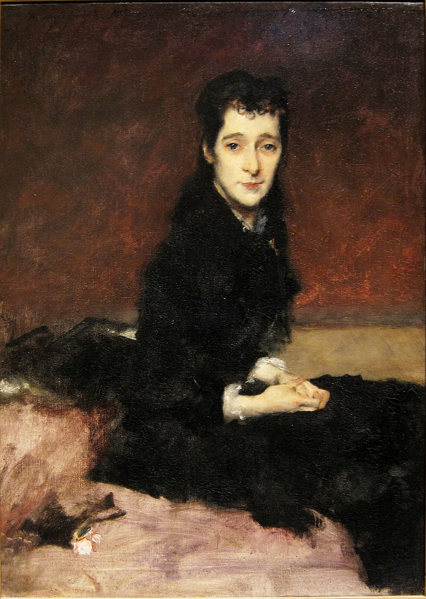 Mrs. Charles Gifford Dyer Mary Anthony  by John Singer Sargent