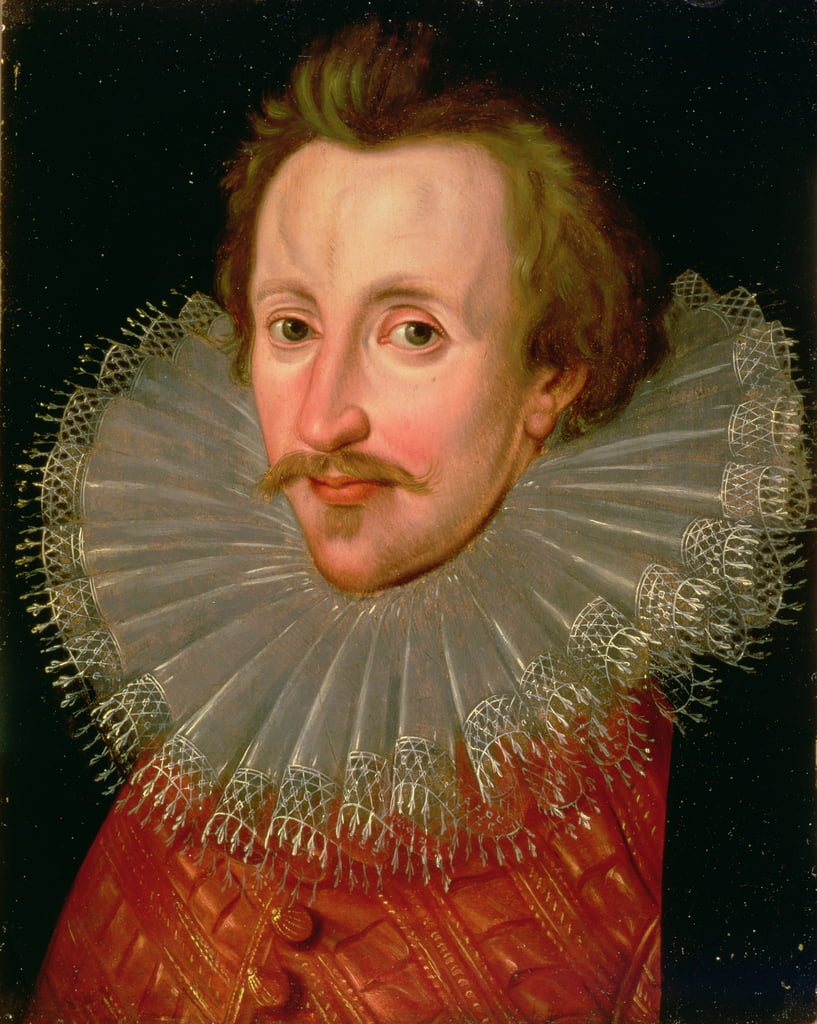 Portrait of Sir Philip Sidney (1554-86) c.1620  by John de, the Younger Critz