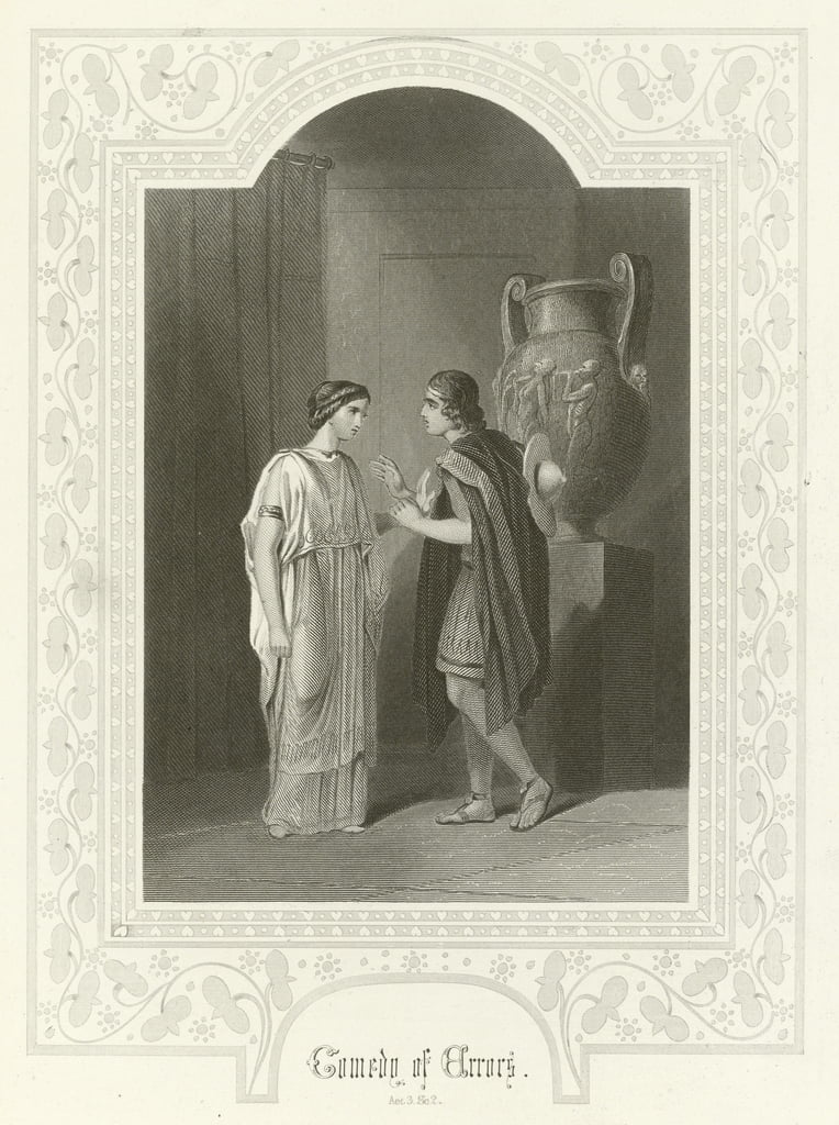 Comedy of Errors, Act III, scene ii  by Joseph Kenny Meadows
