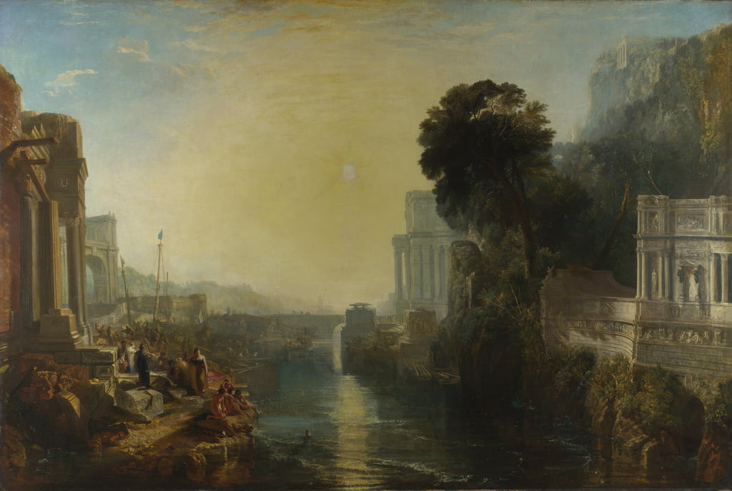 Dido building Carthage, or The Rise of the Carthaginian Empire, 1815  by Joseph Mallord William Turner