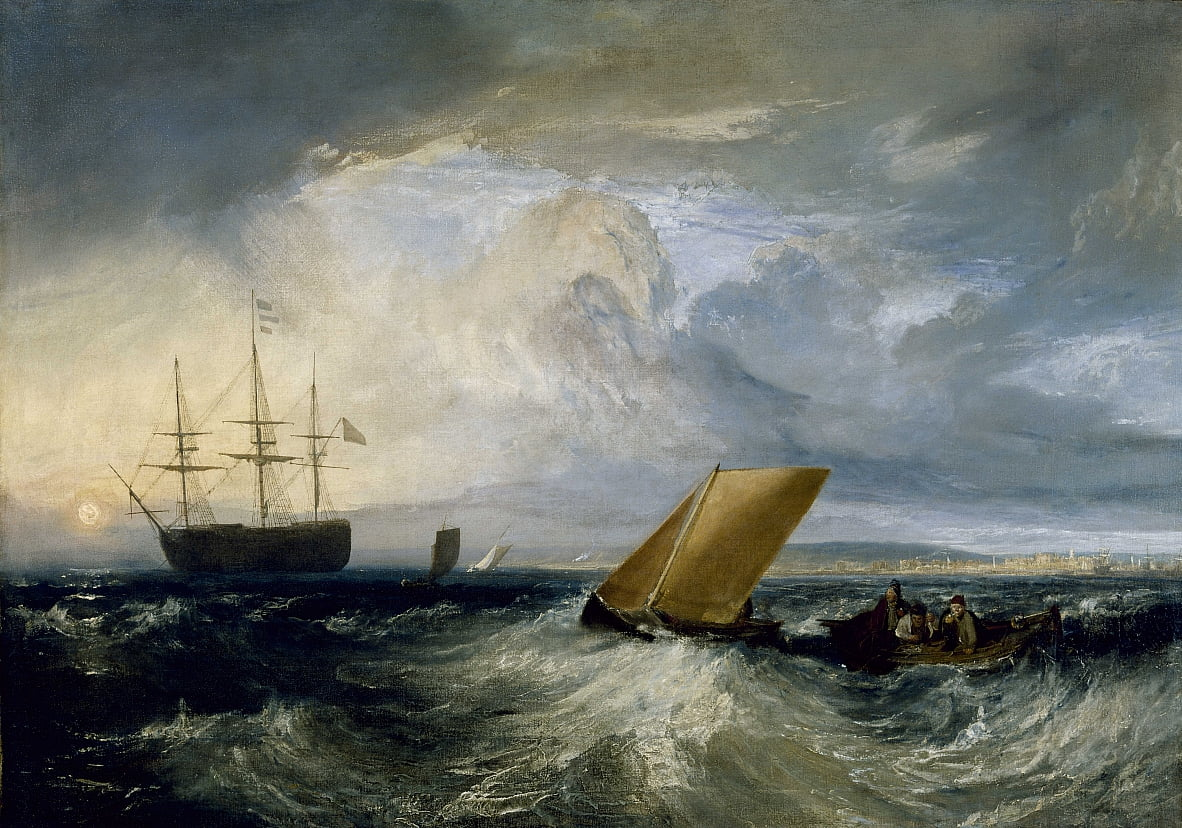 Sheerness as seen from the Nore by Joseph Mallord William Turner