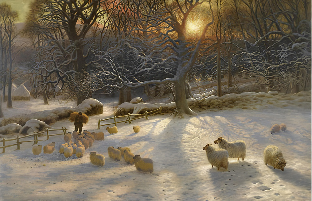 the Shortening Winter's Day Is near a Close by Joseph Farquharson