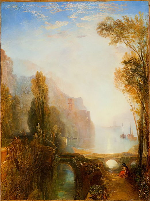 Banks of the Loire  by Joseph Mallord William Turner