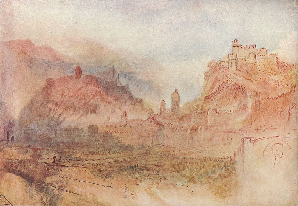 Bellinzona: From the South, 1909 by Joseph Mallord William Turner