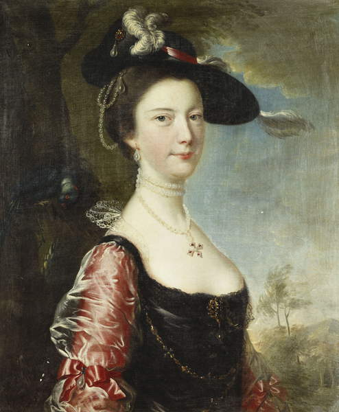 Ca s'est passé en septembre ! Joseph_Wright_of_Derby_-_Portrait_of_His_Wife_Anne_-_%28MeisterDrucke-831391%29