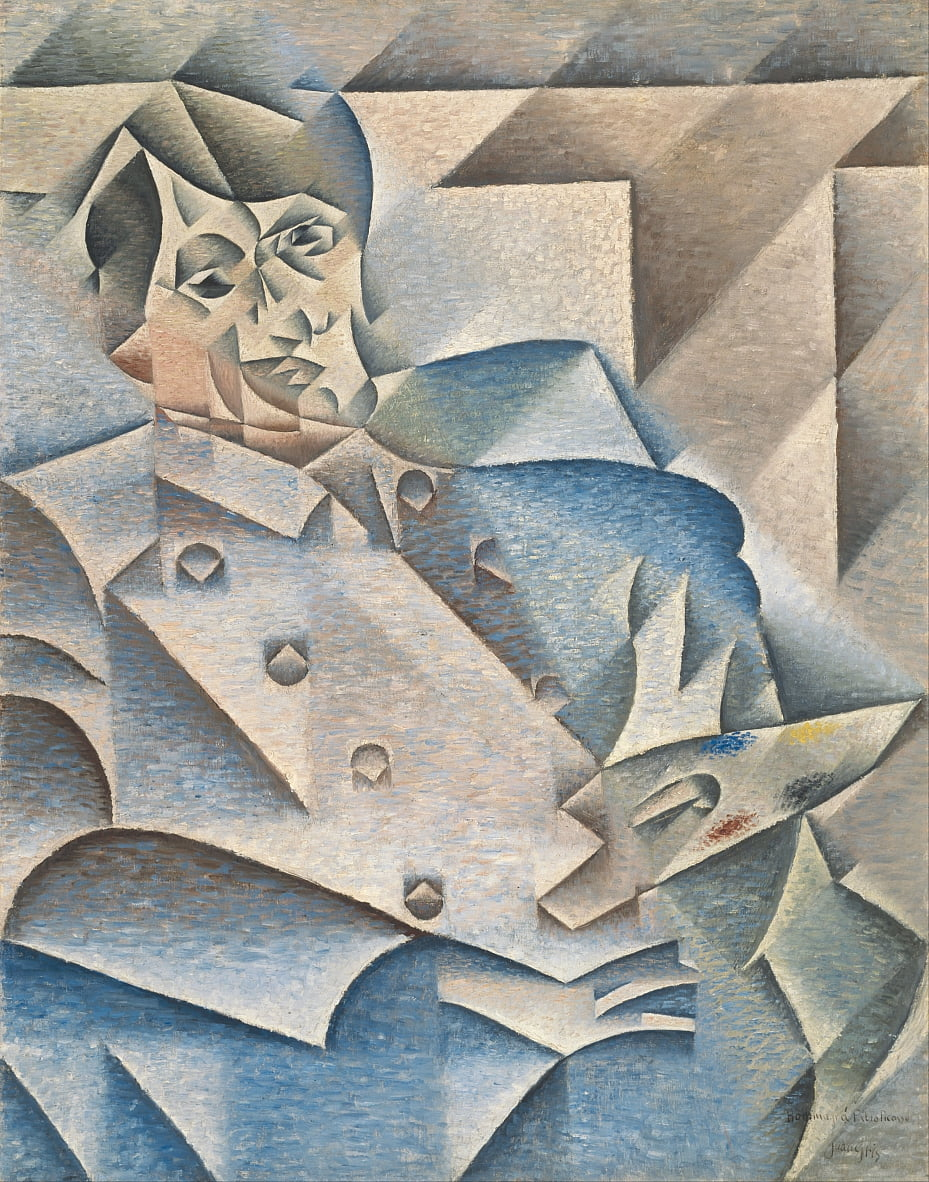 Portrait of Pablo Picasso by Juan Gris