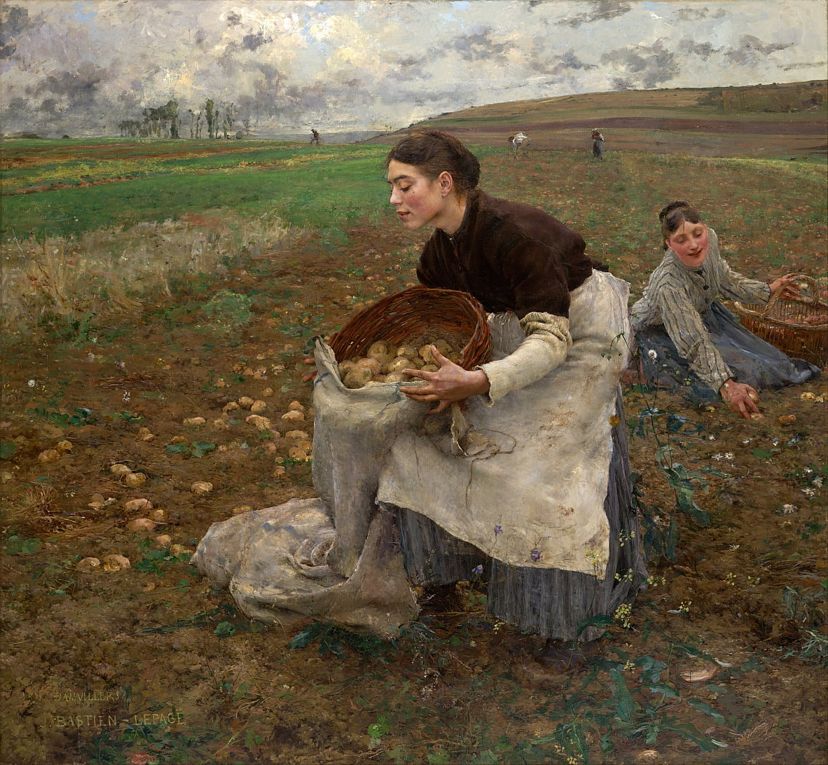 October by Jules Bastien Lepage