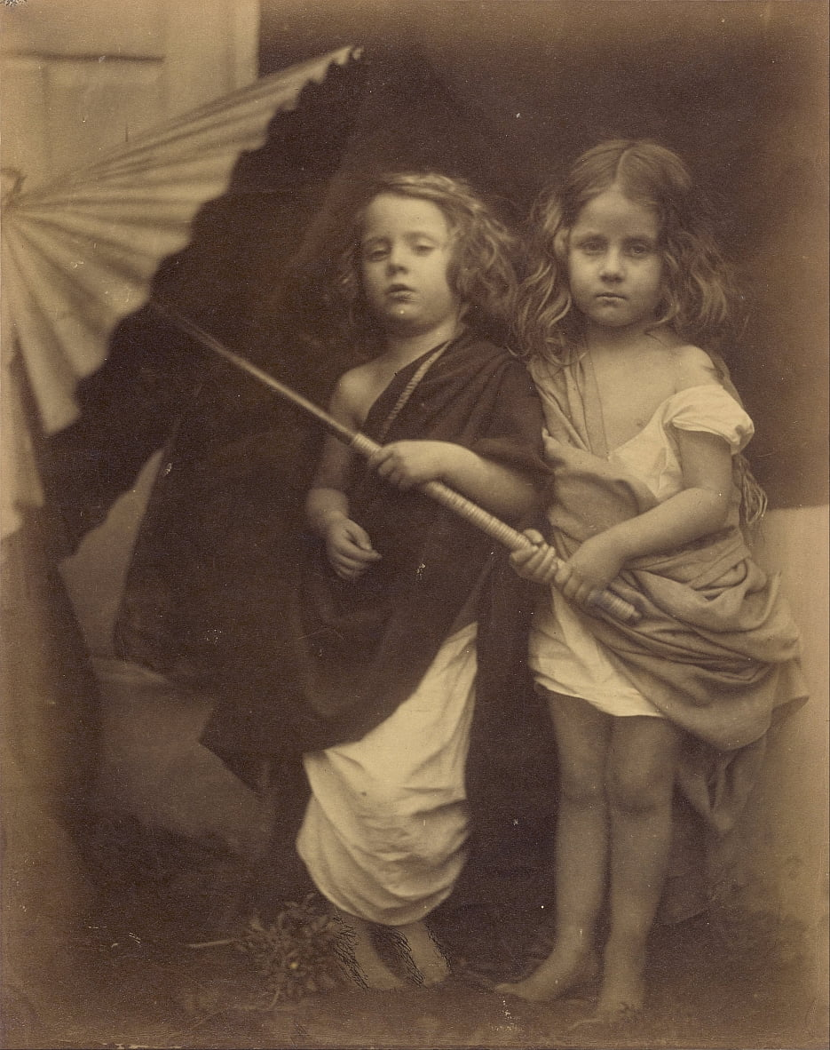 Paul and Virginia by Julia Margaret Cameron