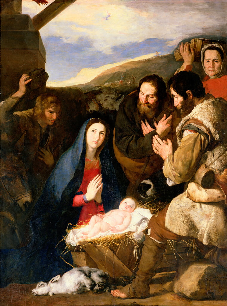 Adoration of the Shepherds, 1650  by Jusepe de Ribera