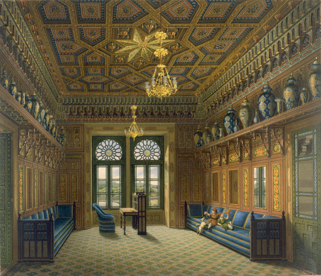 Design for the Grand Reception Room, 1837  by Karl Ludwig Wilhelm Zanth
