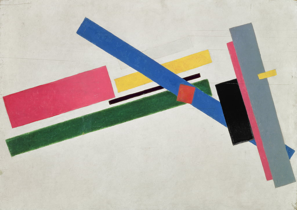 Suprematist Construction, 1915  by Kazimir Severinovich Malevich