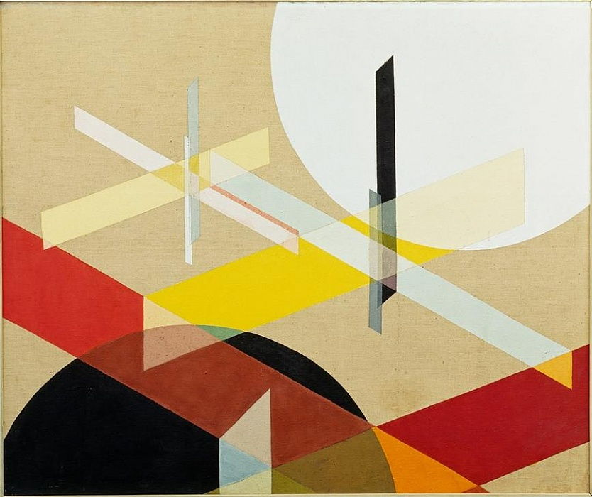 Komposition Z VIII by Laszlo Moholy Nagy