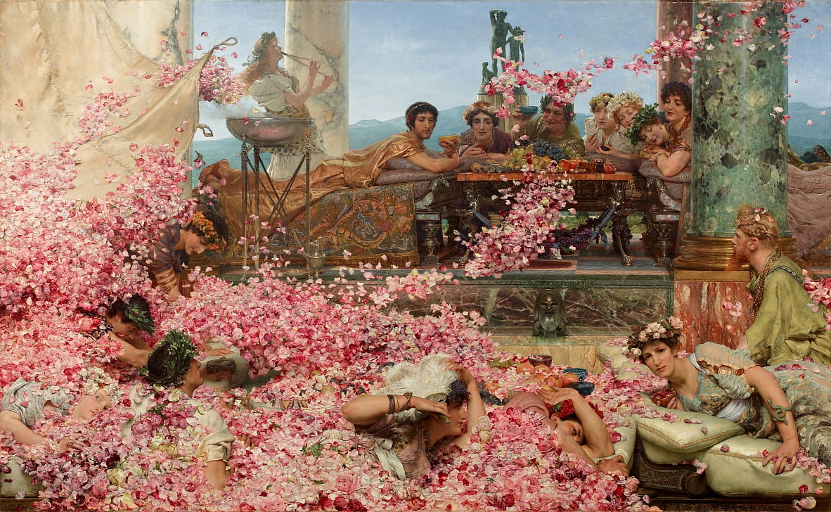 The Roses of Heliogabalus by Lawrence Alma Tadema
