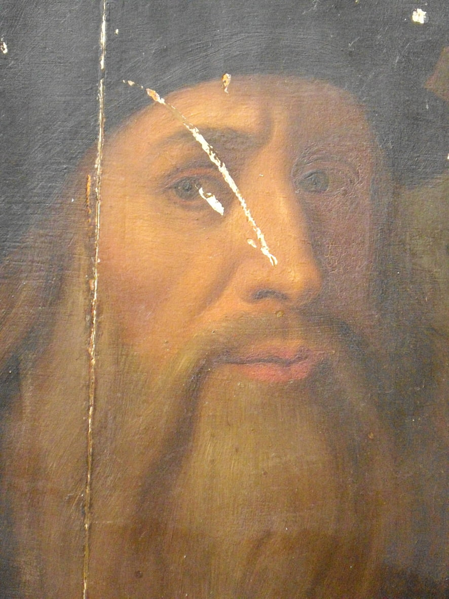 Lucan self-portrait by Leonardo da Vinci