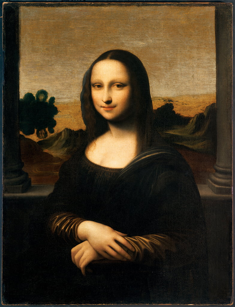 The Isleworth Mona Lisa  by Leonardo da Vinci