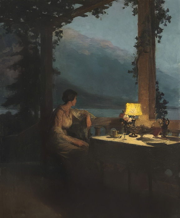 The Terrace, Annecy  by Marcel Rieder
