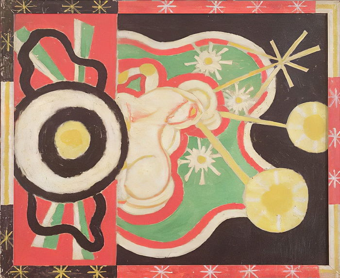 Forms Abstracted, 1913  by Marsden Hartley